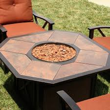 Patio Table With Firepit by Patio Interesting Fire Pit Patio Sets Propane Fire Pit Table