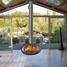 Contemporary Home Interior 25 Hanging Fireplaces Adding Chic To Contemporary Interior Design