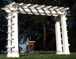 wedding arch plans free for the garden
