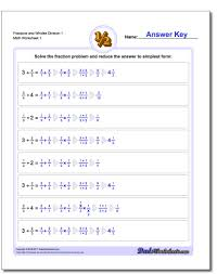 Division Worksheets Grade 4 Math Worksheets