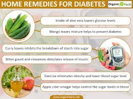 21 surprising home remedies for diabetes organic facts