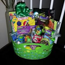 pre filled easter baskets mutant turtles tmnt easter basket gift pre filled