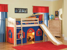 Bedroom Furniture Modern Melbourne Bunk Beds Double Bed With Trundle Natural Kids Bedroom