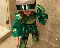 minecraft costumes minecraft costume etsy