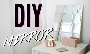 DIY Mosaic Mirror Simple & Cheap Room Decor