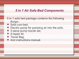 Air Sofa 5 In 1 Bed Buy 5 In 1 Air Sofa Bed