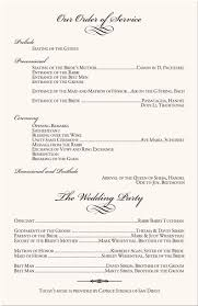 christian wedding program best 25 wedding program sles ideas on how to word