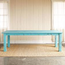 Teal Dining Table by Turquoise Cumberland Outdoor Dining Table Everything Turquoise