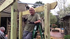 how to build an archway trellis how to build an arbor son inlaw youtube