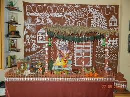 decoration themes for ganesh festival at home eco friendly decoration for ganesh chathurthi at my home mad by
