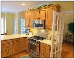 Light Oak Kitchen Cabinets Light Colored Kitchen Cabinets