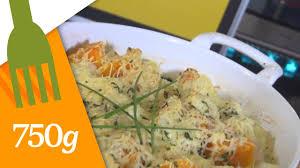 comment cuisiner le chou fleur recette de gratin de chou fleur et butternut 750 grammes