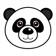 panda clipart easy pencil and in color panda clipart easy