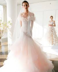blush wedding dress trend 162 best ss17 right the runway images on