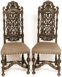 antique william and mary dining chairs home furniture furnishings