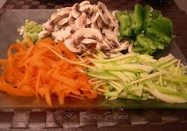 recette cuisine wok wok de poulet aux 5 epices ma