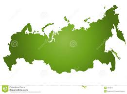 Map Russia Map Russia Stock Vector Image Of Position Mapping Borders 1024676