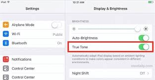 How To Turn Off Iphone Light How To Disable Or Enable True Tone Display On Ipad Pro
