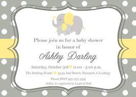 unisex baby shower elephant baby shower invitation jungle invitation elephant