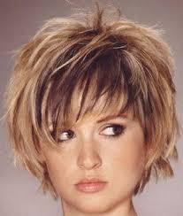 google short shaggy style hair cut choppy layered hairstyles choppy layered graduated hair cuts
