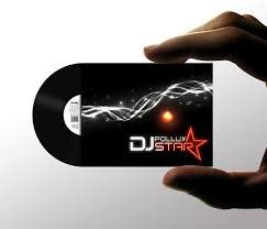 Clear Business Cards Vistaprint 15 Cool Dj Business Cards Printaholic Com