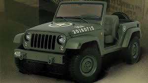 jeep concept vehicles jeep honors 75th anniversary of willys mb with 75th salute concept