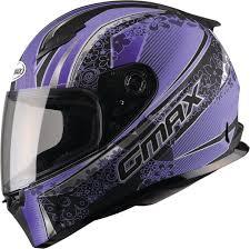 purple motocross helmet 94 46 gmax womens ff49 elegance full face helmet 994869