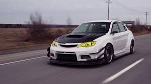 widebody wrx varis wide body subaru sti lachute performance project car youtube