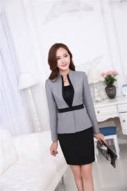 styles of work suites formal uniform styles professional business suits femaletops and