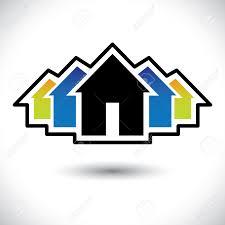 Haus Immobilien Haus Home U0026 Residence Zeichen Für Immobilien Grafik Die