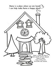 welcome home coloring pages bestofcoloring com