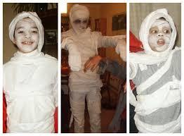 Kids Mummy Halloween Costume Minute Halloween Costume Ideas Sum Stories