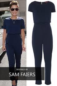 top jumpsuit crepe crop top jumpsuit tique a bou