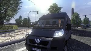 peugeot van boxer standalone peugeot boxer van ai car euro truck simulator 2 mods