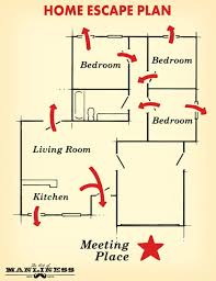 home escape plan a complete guide to home fire prevention and safety the art of