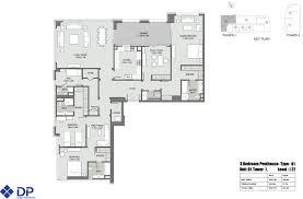 floor plans bellevue towers downtown dubai
