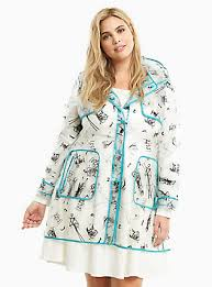plus size nightmare before pvc coat nbc character