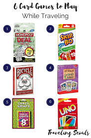 Traveling Games images Six card games to take when traveling traveling seouls png