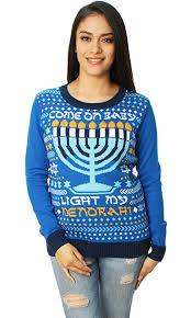 hanukkah baby come on baby light my menorah hanukkah sweater amen v amen