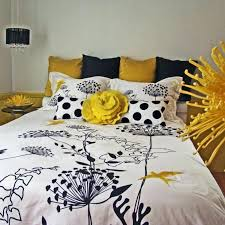 articles with black white gray yellow bedding tag awesome grey