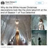White Christmas Meme - memes mock melania trump s white house christmas decorations sfgate