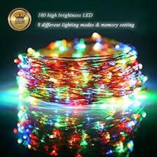 Fairy Lights Amazon Amazon Com Led String Lights Yoozon 16ft 50 Leds Fairy Lights