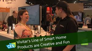 vivitar u0027s line of smart home products are creative and fun at ces