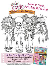 free printable lalaloopsy girls coloring printable coloring