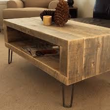 reclaimed wood coffee table 40