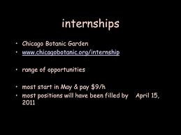 Botanical Garden Internship Internships Chicago Botanic Garden Range Of Opportunities Most