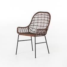 Woven Dining Chair Grass Roots Bandera Woven Dining Chair The Khazana Home