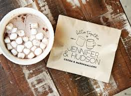 hot cocoa favors 15 ways to build your own hot chocolate bar intimate weddings
