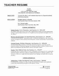 teachers resume exles science resume format unique secondary resume
