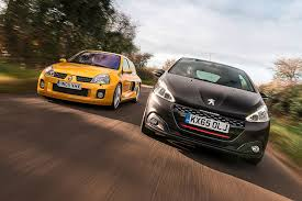 peugeot 208 gti 30th anniversary icon buyer new peugeot 208 gti vs used renault clio v6 by car
